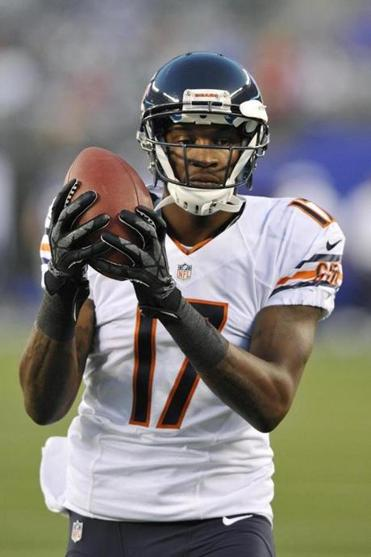 With the Bears thin at receiver, Alshon Jeffery might be a good catch, especially when Jay Cutler returns to action.