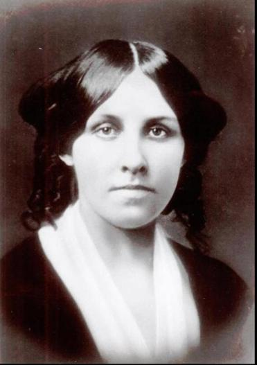 "Louisa May Alcott, author of the book, ""Little Women."""