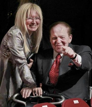 Billionaire Sheldon Adelson and his wife, Miriam, contributed more than $53 million for the election, mostly to super PACs. He reportedly will keep up donations.