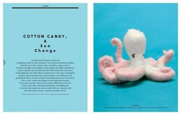 Cotton candy in Gather Journal.
