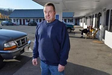 Russell H. Caswell says his family installed security cameras and took other steps to limit drug-related activities at the motel his father opened in 1955 on Route 38 in Tewksbury.