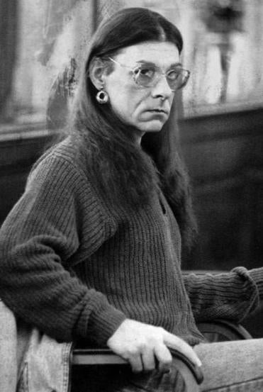 In this Jan. 15, 1993 file photo, Michelle Kosilek sits in Bristol County Superior Court in New Bedford. Kosilek, a convicted murderer who won a court ruling ordering Massachusetts prison officials to allow her to have a sex-change operation, is now fighting for electrolysis treatments.