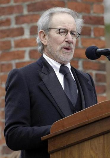 ''I've never stood anyplace on earth where it's easier to be humbled than here,'' said director Steven Spielberg.