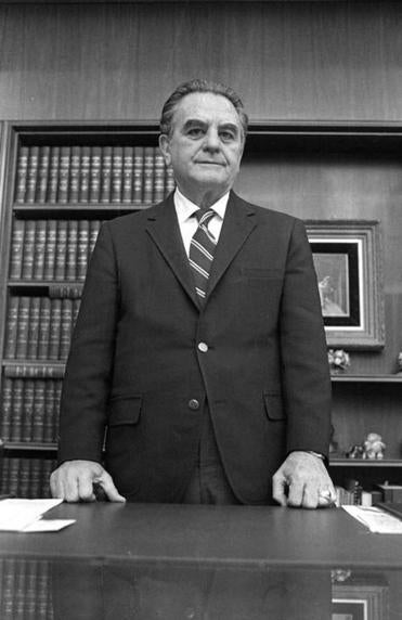 Judge John Sirica appears in new Watergate files.