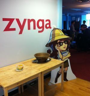 Zynga's stock is up about 67 percent this year.