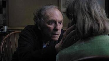 Jean-Louis Trintignant as Georges, who cares for his dying wife.