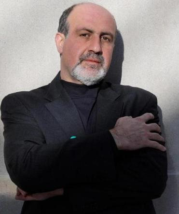 Nassim Nicholas Taleb uses scientific explanation, anec­dotes, parables, and more.