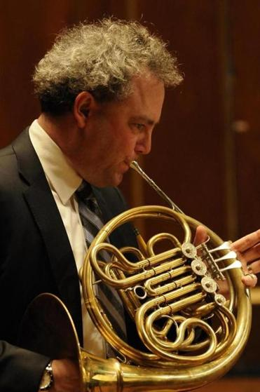 James Sommerville, BSO principal horn, will conduct New England Conservatory's Youth Philharmonic Orchestra in February.