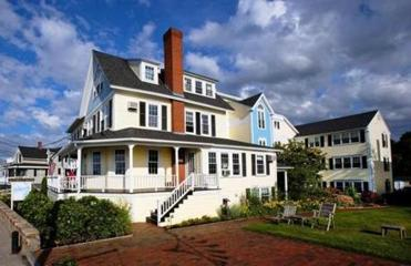 The Beach House in Kennebunk, Maine, is across the street from the Atlantic and a sister property to the White Barn Inn.