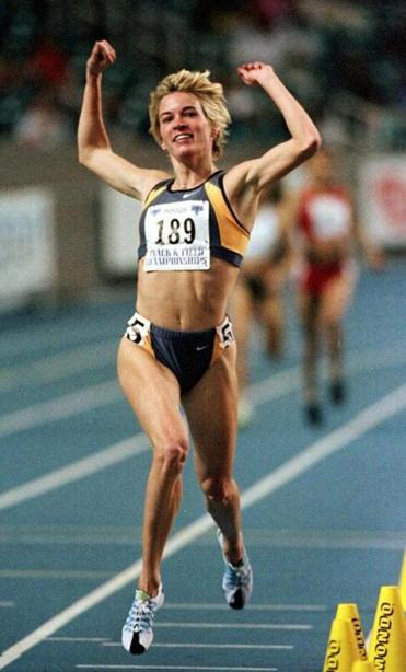 Suzy Favor Hamilton, one of the nation's best-ever middle-distance runners, competed in three Olympics for the US.