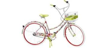 Alice and Olivia's floral print bike, a part of the Neiman Marcus/Target collection.
