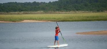 Stand-up paddle.