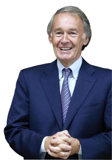 Edward Markey was first elected to the US House of  Representatives in 1976.