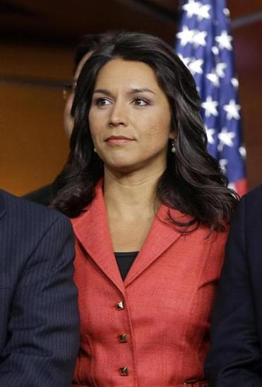 Tulsi Gabbard, D-Hawaii, will be the first Hindu in the US House.