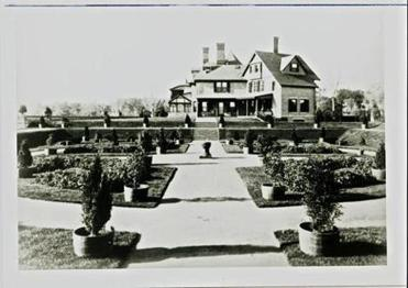 An estate owned by Francis Blake.