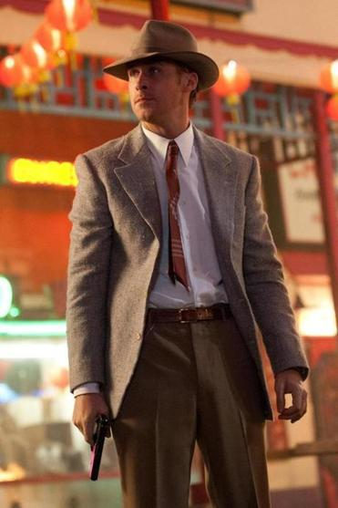 "Ryan Gosling in ""Gangster Squad."""