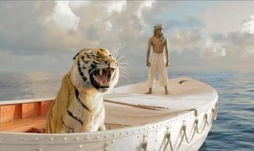 "Ang Lee's ""LIfe of Pi"" scored several Oscar nominations."