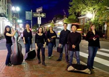 Radius Ensemble performs at the Shalin Liu Performance Center in Rockport on Saturday, Feb. 2.