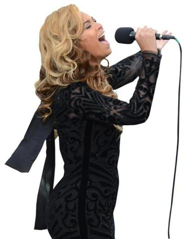 Beyonce performed at President Obama's second inauguration.