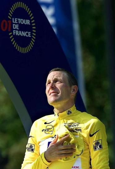 Lance Armstrong in 2001.