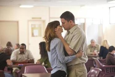 "Rooney Mara and Channing Tatum in ""Side Effects."""