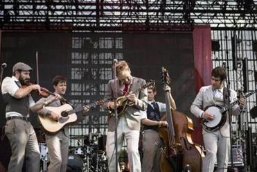 Punch Brothers performed at the 2012 Bonnaroo Music and Arts Festival.