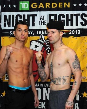 The main event at TD Garden will feature Salem's Derek Silveira (left) and Danny O'Connor of Framingham.
