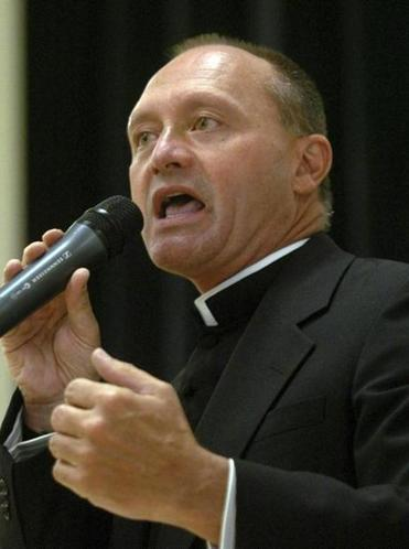 Monsignor Kevin Wallin also had a sex toy shop.