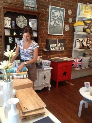 Laurence Marinacci and a college friend created Buk & Nola, a home decor and gift shop on Laurier Avenue East.