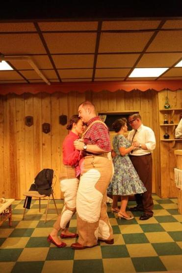 """Blood Play"" is set in Skokie, Ill., in the 1950s with deliberately cartoonish characters."