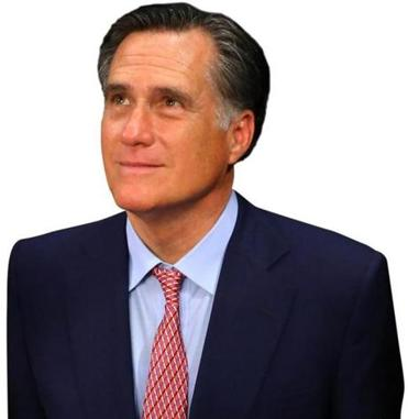 Former Republican presidential candidate and Massachusetts Governot Mitt Romney.