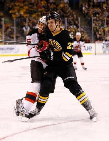 Doug Hamilton, the No. 9 pick in the June 2011 draft, only officially learned on Monday the Bruins would not send him back to his St. Catharines, Ontario, junior team.
