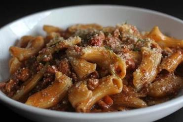 """Chef Fournier's Famous Bolognese."""