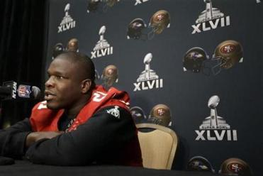 "Frank Gore called his early seasons with the 49ers ""real tough."""