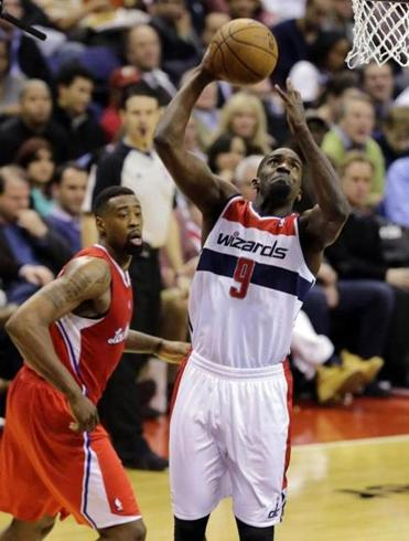 Martell Webster scored 21 points for the Wizards.