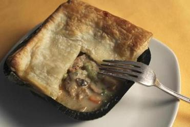 Blackbird Pie's New England-style chicken pie.