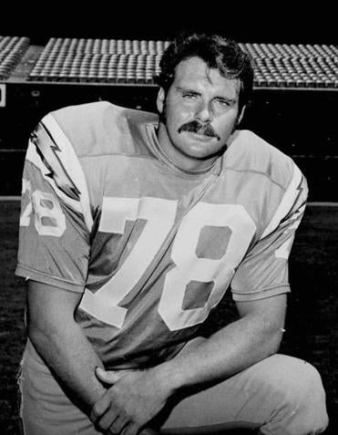 Walt Sweeney, a guard, played 13 NFL seasons without missing a game.