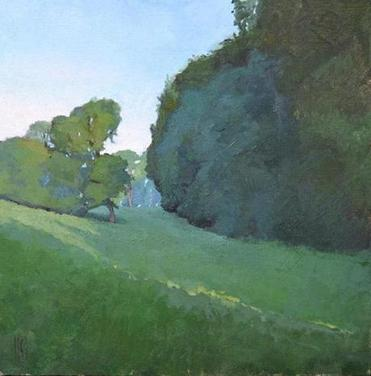 "Sue Charles' ""Field Hollow,"" in Hingham"
