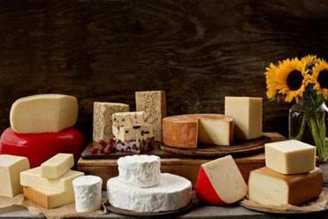 A variety of Farmstead's cheeses.