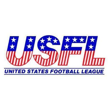The logo of the old United States Football League.