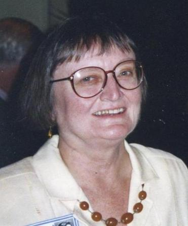 Mrs. Clymer at the 40th reunion of her Needham High School class in 1995.