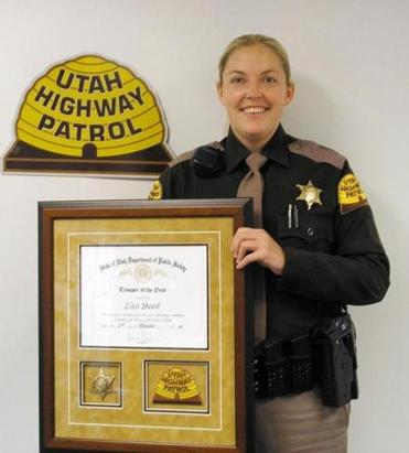 Lisa Steed was trooper of the year in 2007. Last year, Utah Highway Patrol fired her over falsified reports.