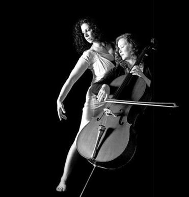 "Fontaine Dubus of Exit Dance Theatre and cellist Kristin Miller will present ""Incarnation: A Performance in Motion"" at The Tannery Mill #1 in Newburyport Friday and Saturday (March 8-9) and March 15-16."