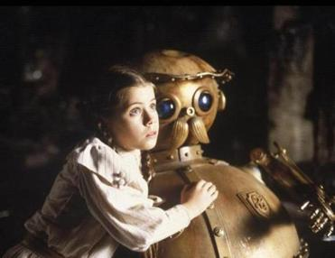 "Fairuza Balk with the robot Tik-Tok in 1985's ""Return to Oz."""