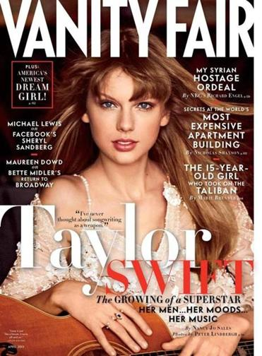 Taylor Swift Vanity Fair cover