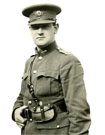 Michael Collins in August 1922, the month he was killed in an ambush.