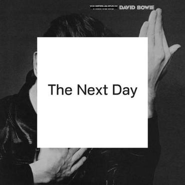 "Album art for  ""The Next Day"" by David Bowie."