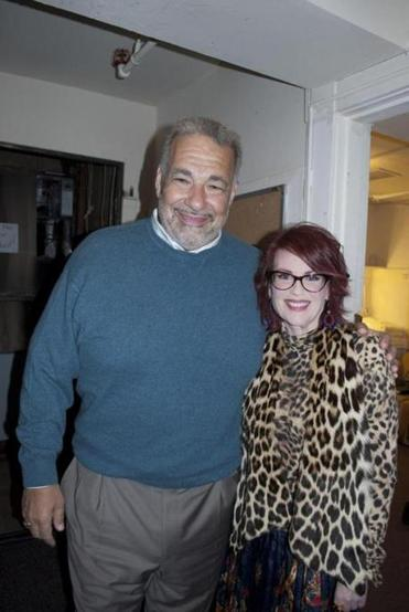 Bill Blumenreich and Megan Mullally.