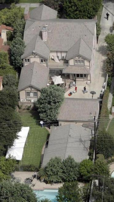 The Sohuses' property in San Marino, Calif., was searched for evidence in 2008.