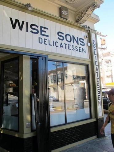 Wise Sons opened in February 2012 in a former taqueria.